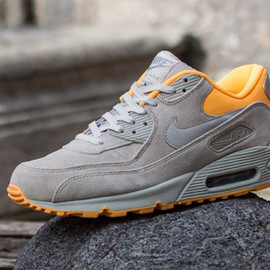 Nike - Air Max 90 Premium: Pale Grey