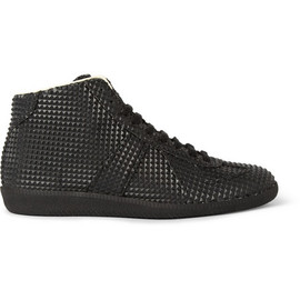 Maison Martin Margiela - Black Studded High-Top Sneaker