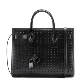 SAINT LAURENT - Sac De Jour Small studded leather tote