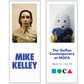 MIKE KELLEY - Banner: White Plush