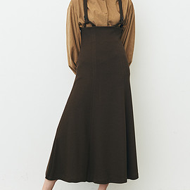 clane - UP WAIST JUMPER SKIRT