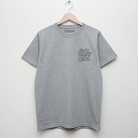 cup and cone - 5th Anniversary Tee - Grey
