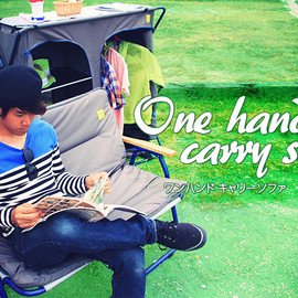 One hand carry sofa one seater