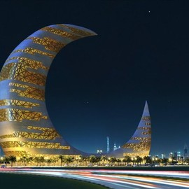 Dubai - Crescent moon tower