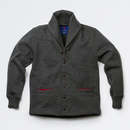 Best Made Company, Dehen Knitting Company - Shawl Neck Sweater Coat