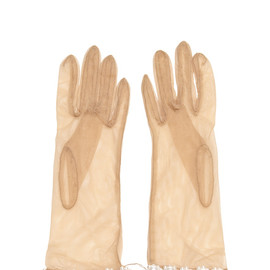 SIMONE ROCHA - Pearl-Embellished Tulle Gloves