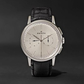 Zenith - Elite Chronograph Classic Stainless Steel and Alligator Watch