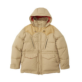 RockyMountainFeatherBed - HERITAGE COLLECTION DOWN MOUNTAIN PARKA TAN × LIGHT BROWN