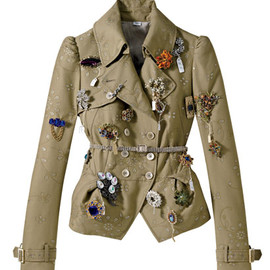 John Galliano - ARMY JACKETS  Embellished jacket