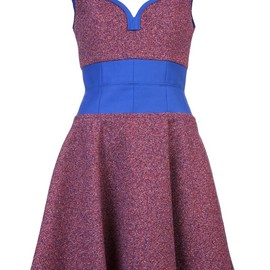 CARVEN - Frothy tweed dress