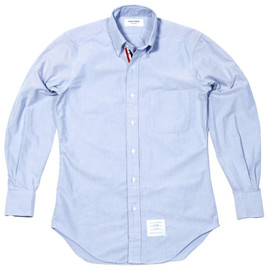 Thom Browne - Blue Grosgrain Placket Sport Shirt