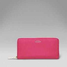 SMYTHON - LARGE SLIM PURSE(Fuchsia)