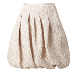 Nina Ricci - CRINKLED LAMÉ BUBBLE SKIRT