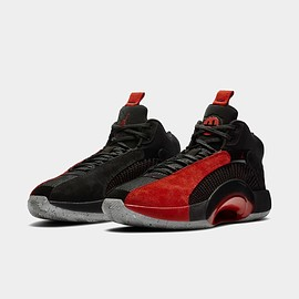 "NIKE - NIKE AIR JORDAN XXXV SP-R PF ""WARRIOR / RUI HACHIMURA"" BLACK/UNIVERSITY RED-CEMENT GREY DA2625-600"