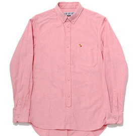 bal - TIGHT FIT OXFORD BD SHIRT