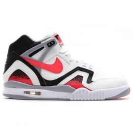 Nike - NIKE AIR TECH CHALLENGE II QS WHITE/HOT LAVA-BLACK-FLIGHT SILVER