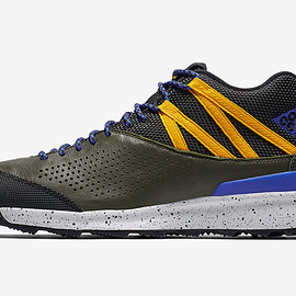 NIKE - Okwahn II - Sequoia/Racer Blue/Yellow Ochre
