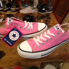 "converse - 「<deadstock>90's converse ALLSTAR OX pink""made in USA"" size:US5(24cm) 6800yen」完売"