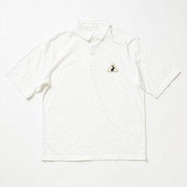 SOPHNET. - Julian Opie patch Polo shirt