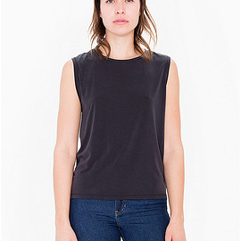 American Apparel - Brushed Jersey Muscle Tank
