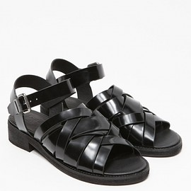 To Be Announced - Osceola Sandal in Black