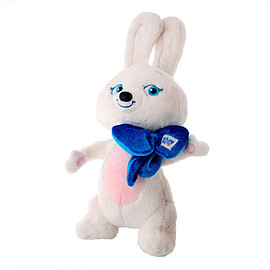 SOCHI 2014 WINTER OLYMPIC GAMES - official plush bunny mascot