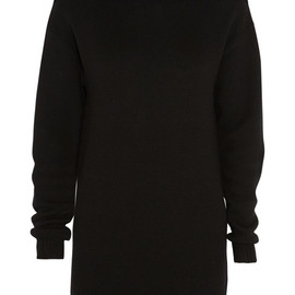 ALEXANDER WANG - Wool turtleneck dress