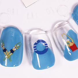 lavitaebella1986 - Synchronised Swimmers Nail Decals