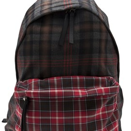GIVENCHY - plaid backpack