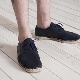 FACTOTUM - LEATHER ESPADRILLE