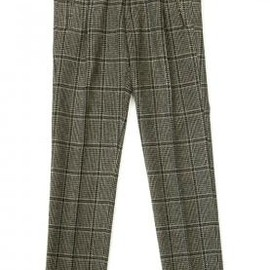 DRIES VAN NOTEN - DRIES VAN NOTEN PECOS PANTS GREY 2013-14AW