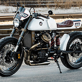 Smith Brother's Classic Cycles & Customs - 'Obersten Regal' Honda CX500 Racer