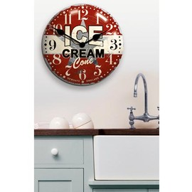 Newgate Clocks - Ice Cream Advertising Wall Clock