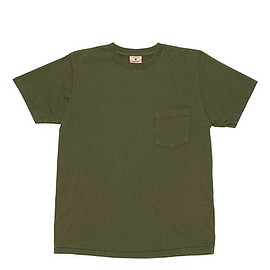 Goodwear - S/S Crew Neck Pocket Tee Custom-O.D.