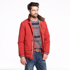 J.CREW - Quilted Wheatland jacket