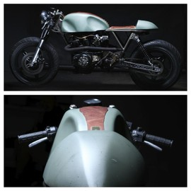 HONDA - CM400 Cafe Racer by  Retro Moto (Junior Burrell)