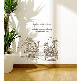 wallstickerdeal.com - Sweet Flower Suite Wall Sticker