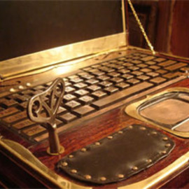 Steam punk Laptop