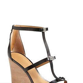 MARC BY MARC JACOBS - Cube Bow Leather Wedge Sandal