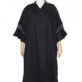 BANSAN - Traditional spring gown : black