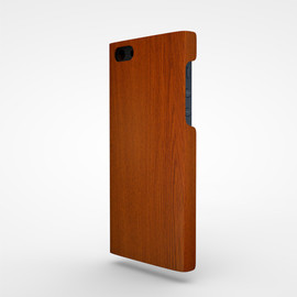 Quirky - iPhone5 case Wood