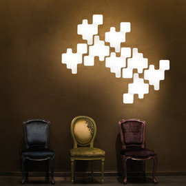 Bakery Group - Kundalini - Pixel WallCeiling Light
