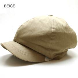 C-PLUS HEAD WEAR - HB Stitch Casquette (BEIGE)