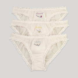 STELLA McCARTNEY - Black 7 Day Knicker Set