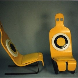 Zombie chair by Roger Tallon