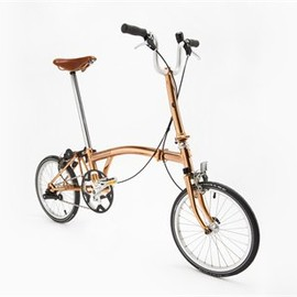 Tom Dixon x Brompton - Tom Dixon Copper Bike