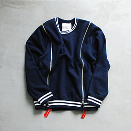 itten - TD by itten/crewneck cotton jersey/navy
