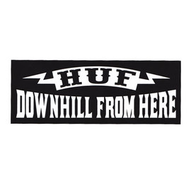 HUF - DOWNHILL (Black)