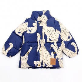 mini rodini - SNOW LEOPARD JACKET
