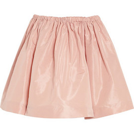 miu miu - Flared faille mini skirt